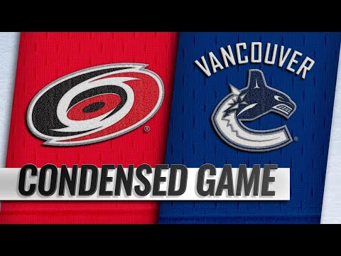 01/23/19 Condensed Game: Hurricanes @ Canucks