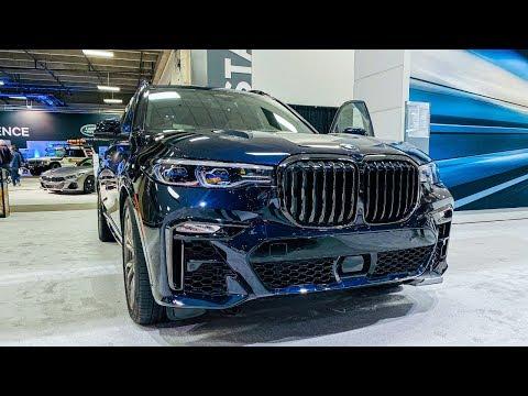 2020 BMW X7 M50i SUV Interior Exterior Walk-around 4K