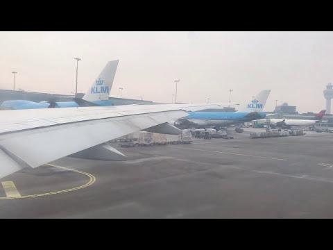 Jet Airways 9W233 Amsterderm to New Delhi.