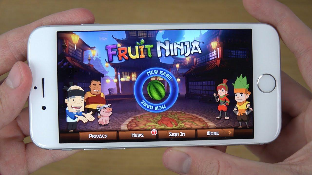 sony xperia z fruit ninja