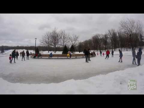 parc du mont royal en hiver