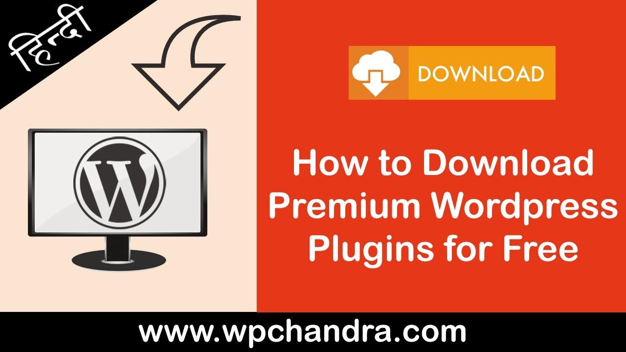 How to Download Premium WordPress Plugins for Free [Hindi / Urdu]