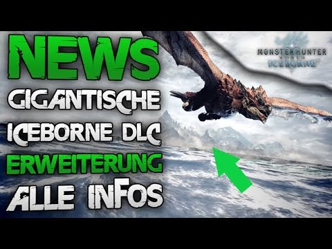 NEWS Iceborne DLC - Neue Maps, Monster, G-Rank & mehr - Monster Hunter World Iceborn Deutsch thumbnail