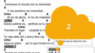 Gracia Sublime Es (Play Along with Song Sheet)