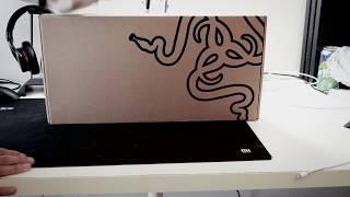 雷蛇键盘Razer BlackWidow X Ultimate - Cherry MX Blue开箱演示