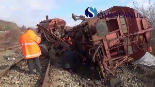 Tren deraiat Letca Salaj