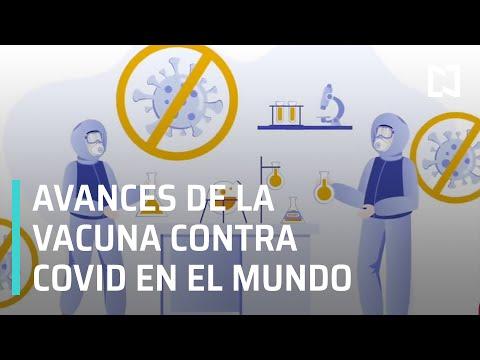 Avances de vacunas contra COVID-19 progresan a pasos agigantados - A Las Tres