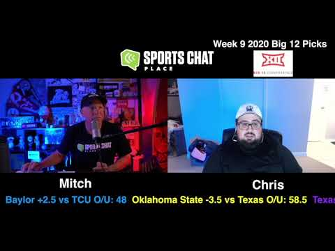 College Football Picks & Predictions Big 12 Week 9 2020 | Sports Chat Place