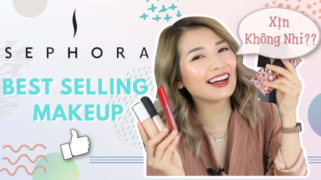 Thử Hết Đồ MAKE UP Bán Chạy Nhất Sephora ♡ Full Face Using Sephora Best Sellers ♡ Pretty.Much