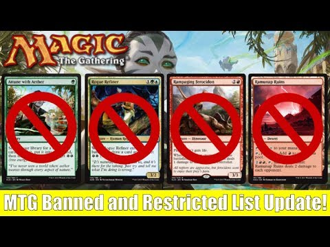 MTG Banned and Restricted List Update: 4 Standard Cards Banned