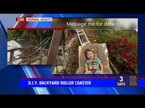 Jason Hurst - California Man Is Giving Away Backyard Roller Coaster