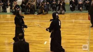 15th All Japan 8 dan Kendo Championships — SF2