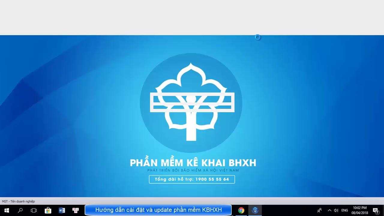 Hướng dẫn cài đặt và update phần mềm KBHXH