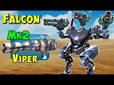 New Mk2 Maxed VIPER FALCON Corrosion Gameplay - War Robots 44 WR