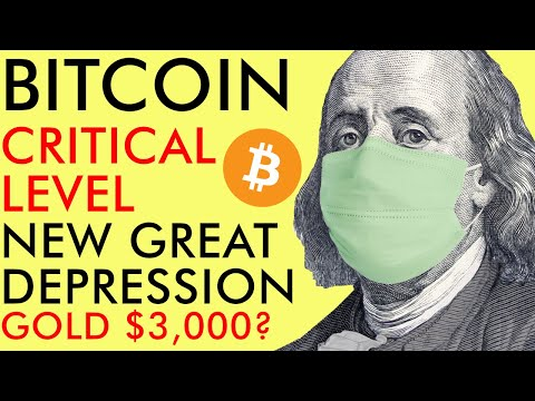 Bitcoin Critical Level as Great Depression 2.0 Could Push Gold to $3,000