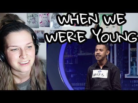 MICHAEL PELUPESSY - WHEN WE WERE YOUNG ( INDONESIAN IDOL ) | REACTION