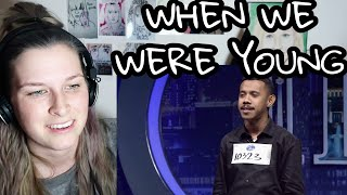Gambar cover MICHAEL PELUPESSY - WHEN WE WERE YOUNG ( INDONESIAN IDOL ) | REACTION