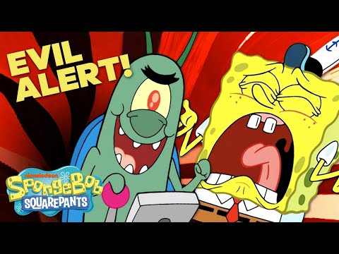 Evil Alert! 🚨 Top 20 Schemes Plankton Used to Steal the Secret