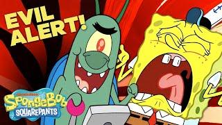Evil Alert! 🚨 Top 20 Schemes Plankton Used to Steal the Secret Formula | #TBT