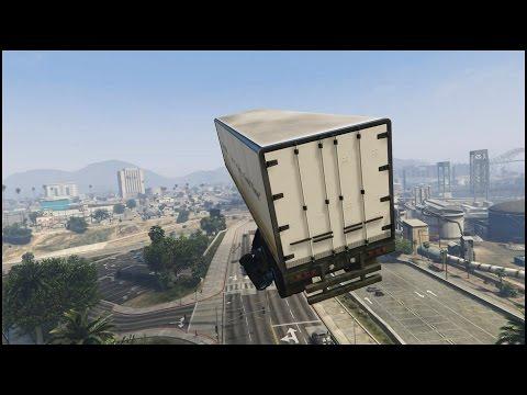 Watch These Amazing GTA 5 Truck Stunts
