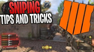 How to get BETTER at SNIPING in BLACK OPS 4! | BO4 SNIPING TIPS AND TRICKS