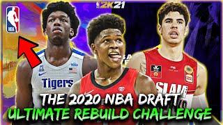 The Ultimate 2020 NBA Draft Rebuild Challenge