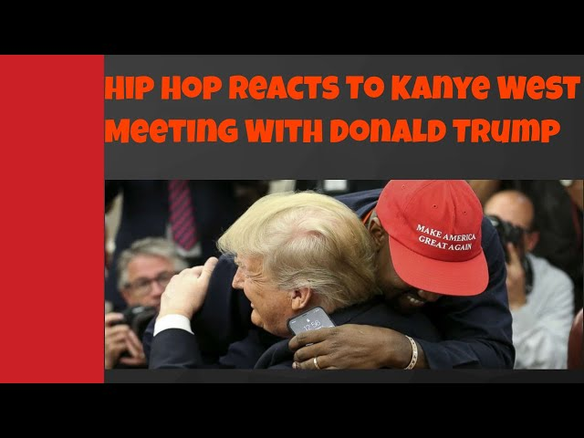 Social Media Reactions To Kanye Meeting With Trump