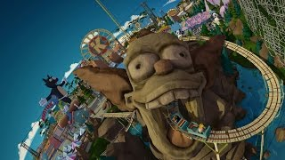 Simpson's Ride (FULL RIDE POV) at Universal Studios Hollywood 2014 HD