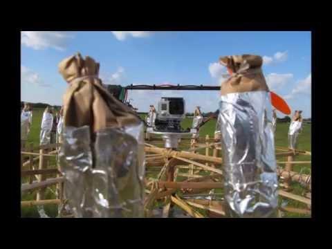 GoPro Fireworks - Girandola - Onboard View