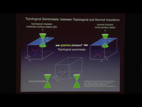 "Ali Yazdani, ""Topological Connections and Protection in Metals and Insulators"" (11/3/16)"