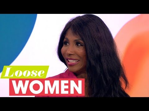 Sinitta Is Not Afraid to Tell Simon Cowell That Hes Put on Weight!  Loose Women