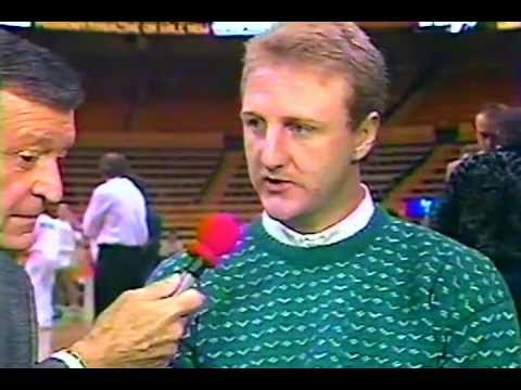 Chick with Larry Bird, 1989 (and bonus)