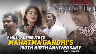 A musical tribute to Mahatma Gandhi