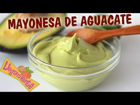 Mayonesa de Aguacate | Recetas Veganas | Veganamente