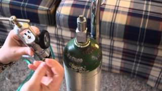 How To Use Oxygen Tanks