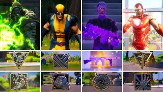 All Bosses, Mythic Weapons & Vault Locations Guide - Fortnite Chapter 2 Season 4 (v14.40)