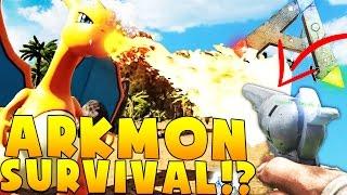 pistol vs pokemon ark survival evolved pokemon mod arkmon 5