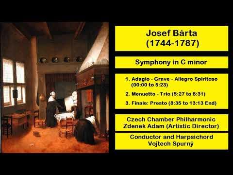Josef Bárta (1744-1787) - Symphony In C Minor