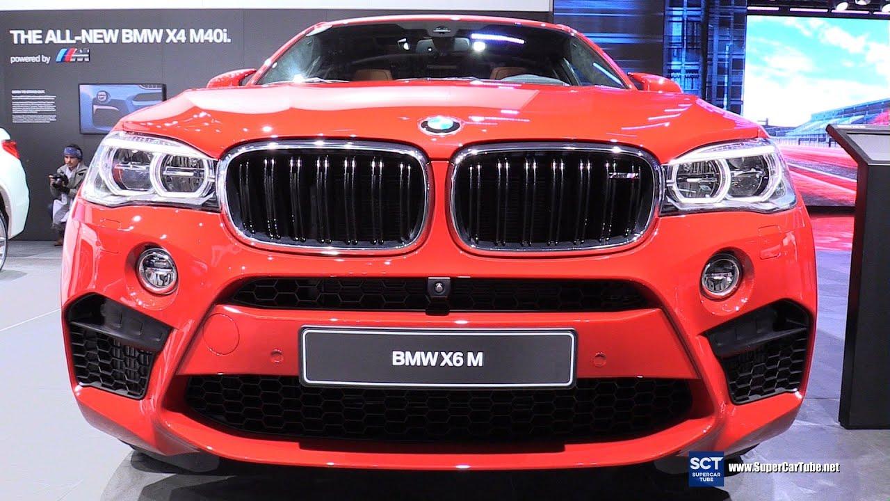 2016 Bmw X6 M Exterior And Interior Walkaround 2016 Detroit Auto