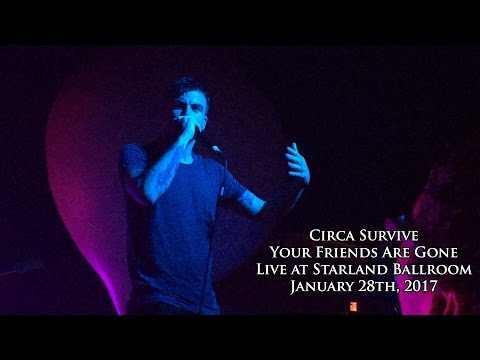 Circa Survive - Your Friends Are Gone (Live at Starland Ballroom)