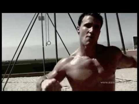 Greg Plitt - Venice Beach Workout ( Bodyweight Workout )