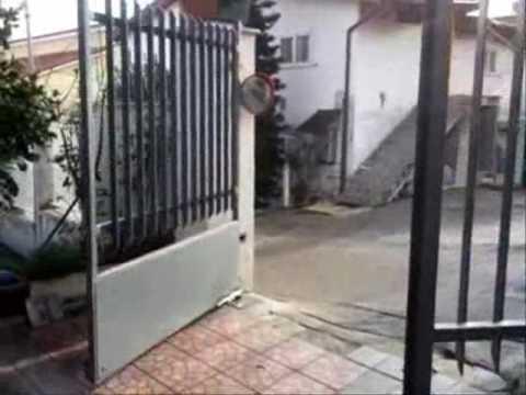 Cancello A Due Ante Battenti.Dieffe Matic Ingressi Automatici Automazione Cancello Ad Ante