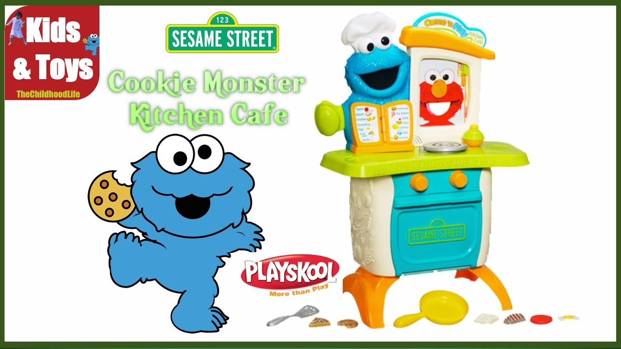 Playskool Sesame Street Cookie Monster Kitchen Café, awesome pre ...