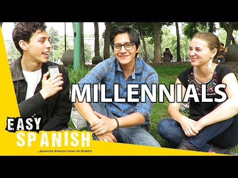 What do Millennials think about themselves? | Easy Spanish 65