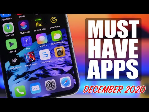 10 MUST Have iPhone Apps - December 2020 !
