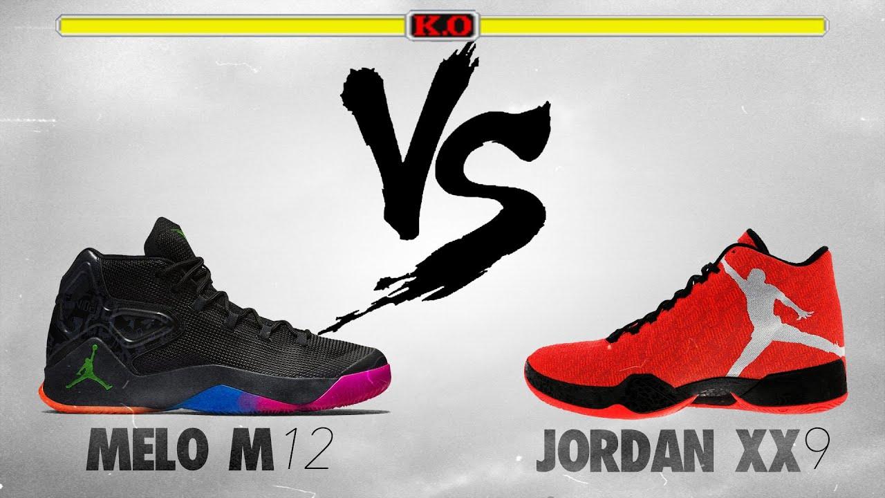 192f310a1d5 Jordan Melo M12 vs. Jordan xx9! The Sole Brothers