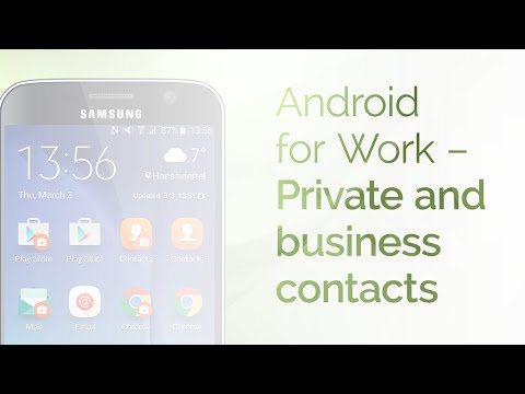 Android For Work: Business and Private Calls