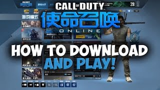 HOW TO DOWNLOAD AND PLAY CALL OF DUTY ONLINE 2016!!!