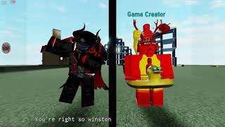 maybe i'll be tracer v0.3 - Dancing with the game creator {ROBLOX}