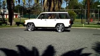 Isuzu Trooper (1986) 24 Inch Wheels (Super Clean) For Sale ( Come Get )